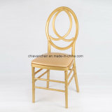 Endlose Chiavari Stühle goldenes Polycarbonat-Harz-Phoenix-