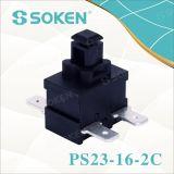 Sokenの掃除機の長方形の押しボタンスイッチ250VAC 16A