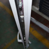 Het witte Venster Kz237 van de Schuine stand en van de Draai van het Profiel van de Kleur UPVC Binnenkomende