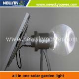 Buena calidad para la lámpara solar de 8W 12W LED para la iluminación del jardín