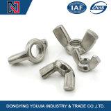 Vleugelmoer de van uitstekende kwaliteit DIN315 van het Roestvrij staal