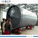 Pneu à Oil Refining Pyrolysis Plant Getting 35-50% Tire Oil