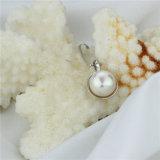 Pendente bianco della perla di prezzi all'ingrosso di disegno semplice