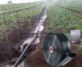 Tubo negro del goteo del manguito del agua del tubo de la irrigación