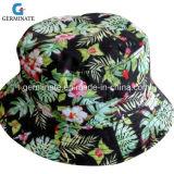 chapéu de 100%Cotton Sun com a toda a cópia da água para o escudo (LY015)