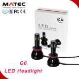 2016 linterna popular de la linterna 4800lm 6000k 40W LED del poder más elevado G6 LED para el coche/el carro