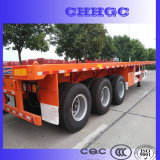 La Cina 3 Axle Flatbed Container Semi Trailer da vendere