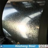 O aço de folha da telhadura do material de construção galvanizou a bobina de aço