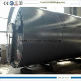 2800-6600 réacteur de pyrolyse de l'épaisseur 12ton de 16mm à vendre