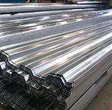 Aufbau verwendete kaltgewalzte gewölbte Stahl-Panel-Farben-Stahldach-Fliese