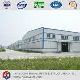 Construction légère d'entrepôt de structure métallique