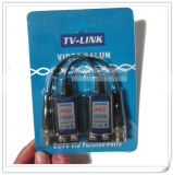 1CH Passive HD-Tvi Cvi Twisted Pair Video Cat5 Cable UTP Balun Transceiver
