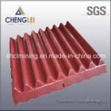 Maxillaire Crusher Plate, Jaw Plate pour Stone Crusher