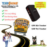 2015 più nuovo Power Saving GPS Tracker per Person/Pet/Child PT30