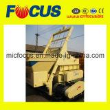 具体的なバッチプラントのためのフルオートの対シャフトの具体的なミキサーJs750、砂およびコンクリートミキサー車