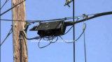 Fechamento de emenda de fibra óptica