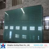 極度のゆとり、青銅、灰色、青は、染められたフロートガラスを緑化する