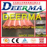 Tuile de toit ondulée de qualité formant la machine en plastique d'extrusion des machines/PVC pour la toiture