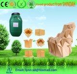 Colle adhésive de papier à base d'eau pour la fabrication de papier