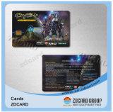 De plastic Transparante Adreskaartjes van pvc NFC