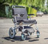 전자 휠체어, E 왕위 접히는 휠체어를 접히는 황금 모터 최신 가장 가벼운 베스트