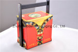 6PCS Portable Élevé-End Mooncake Packaging Box avec Wooden Handle