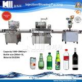 선형 유형 작은 탄산 음료 충전물 기계