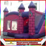 新しいデザイン膨脹可能な跳躍の城、スライドが付いている膨脹可能な城