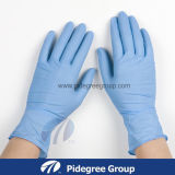 PVC Glove с Purple Color Disposable Nitrile Gloves