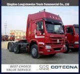 아프리카 시장을%s Sinotruk HOWO 10 바퀴 420HP 트랙터 트럭