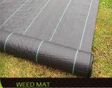 Coperchio al suolo ricoperto tessuto del tessuto di controllo di Weed del giardino