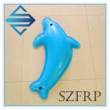 Horizontal de l'horizontal FRP de fibre de verre de décoration de la décoration FRP de fibre de verre de dauphin du dauphin GRP du dauphin FRP de fibre de verre d'interpréteur de commandes interactif de l'interpréteur de commandes interactif GRP de l'interpréteur de commandes interactif FRP de fibre de verre