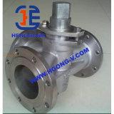 Valvola a rubinetto della flangia dell'acciaio di getto di API/DIN/JIS/acciaio inossidabile