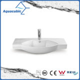 Dispersore di lavaggio del bacino di ceramica del Governo e della mano superiore di vanità (ACB2187)