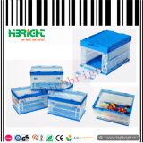 Rectángulo plástico amontonable sólido del volumen de ventas