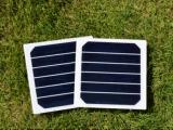 panneau solaire de 3.3W 3.3V Sunpower pour le sac solaire de chargeur
