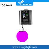Uso variopinto della sfera dell'elevatore LED di illuminazione di RGB di illuminazione della discoteca del fornitore della Cina per il randello di notte
