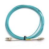 Koord van het Flard van de Vezel van de Vlechten van de vezel de het Optische Optische/Kabel van het Flard met Sc, LC, St, Schakelaars FC