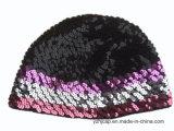 자카드 직물 모자 두개골 모자에 의하여 뜨개질을 하는 모자 아이들 베레모 모자