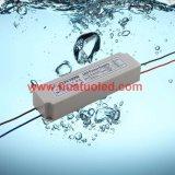 bloc d'alimentation de 12V8.3A DEL/lampe en plastique/bande flexible IP67 imperméable à l'eau