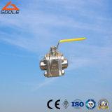 vávula de bola de acero forjada de alta presión de flotación 3PC (GQ61F)