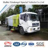 Camion d'aspirateur de route de Dongfeng 10.5cbm