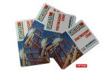 접근 제한 관리를 위한 Cr80 크기 13.56MHz Contactless FM1108 RFID 카드