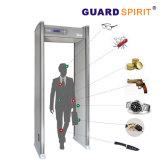 商業建物のためのマルチゾーンLCDの情報処理機能をもった高い感度の戸枠の金属探知器
