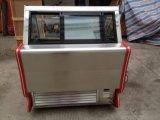 O aço inoxidável 1/4 GN garimpa o congelador do indicador do gelado (TK-14)