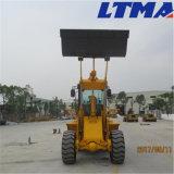 Chinese Kleine Lader Lader van het Wiel van 2 Ton de Mini voor Verkoop