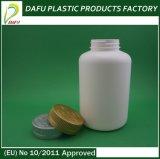 500ml PE Plastic Fles met Gouden Plastic GLB