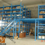 Plataforma do aço do sistema do racking do mezanino do armazém