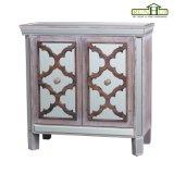 Governo di legno stabilito della mobilia della camera da letto con il blocco per grafici di vetro