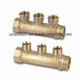 Forged de bronze Manifold para Water Pipe
